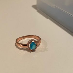 14K ROSE GOLD PLATED RING